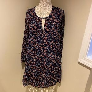 EUC A'GACI blue swing dress